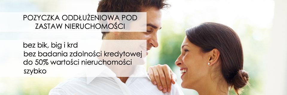 Pod zastaw nieruchomości bez BIK - pożyczki we Wrocławiu